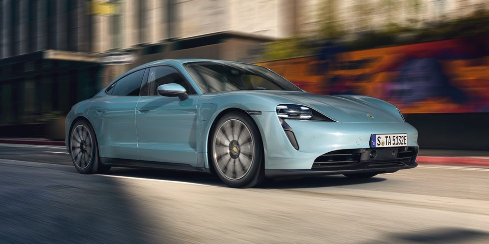 2020 Porsche Taycan 4S Is a 563-HP Entry-Level Four-Door Rocket Ship