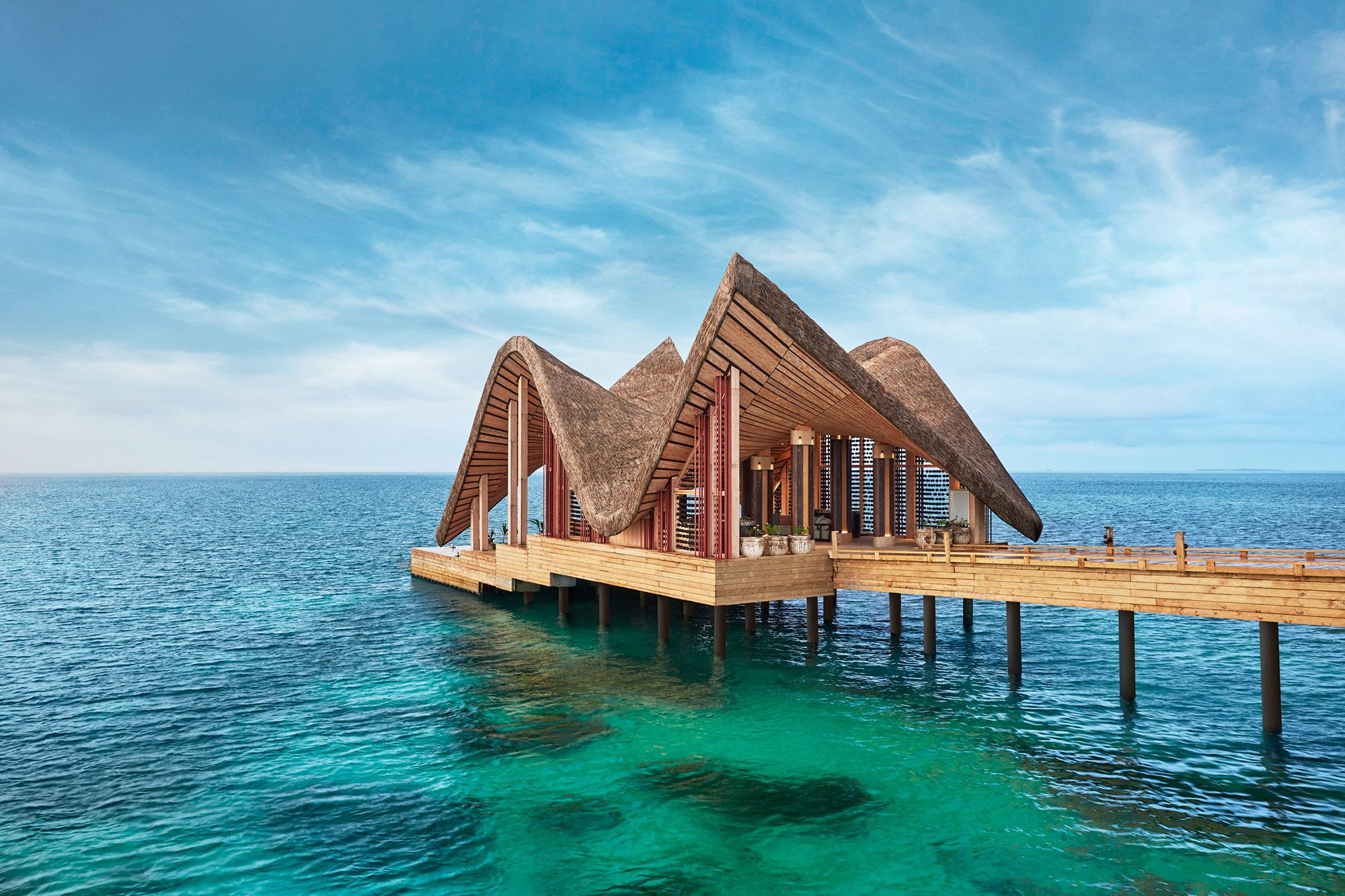A Luxury Resort in the Maldives to Explore with an Art Map