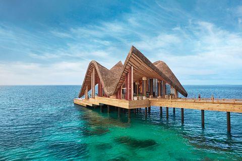 Il resort di lusso alle Maldive Joali