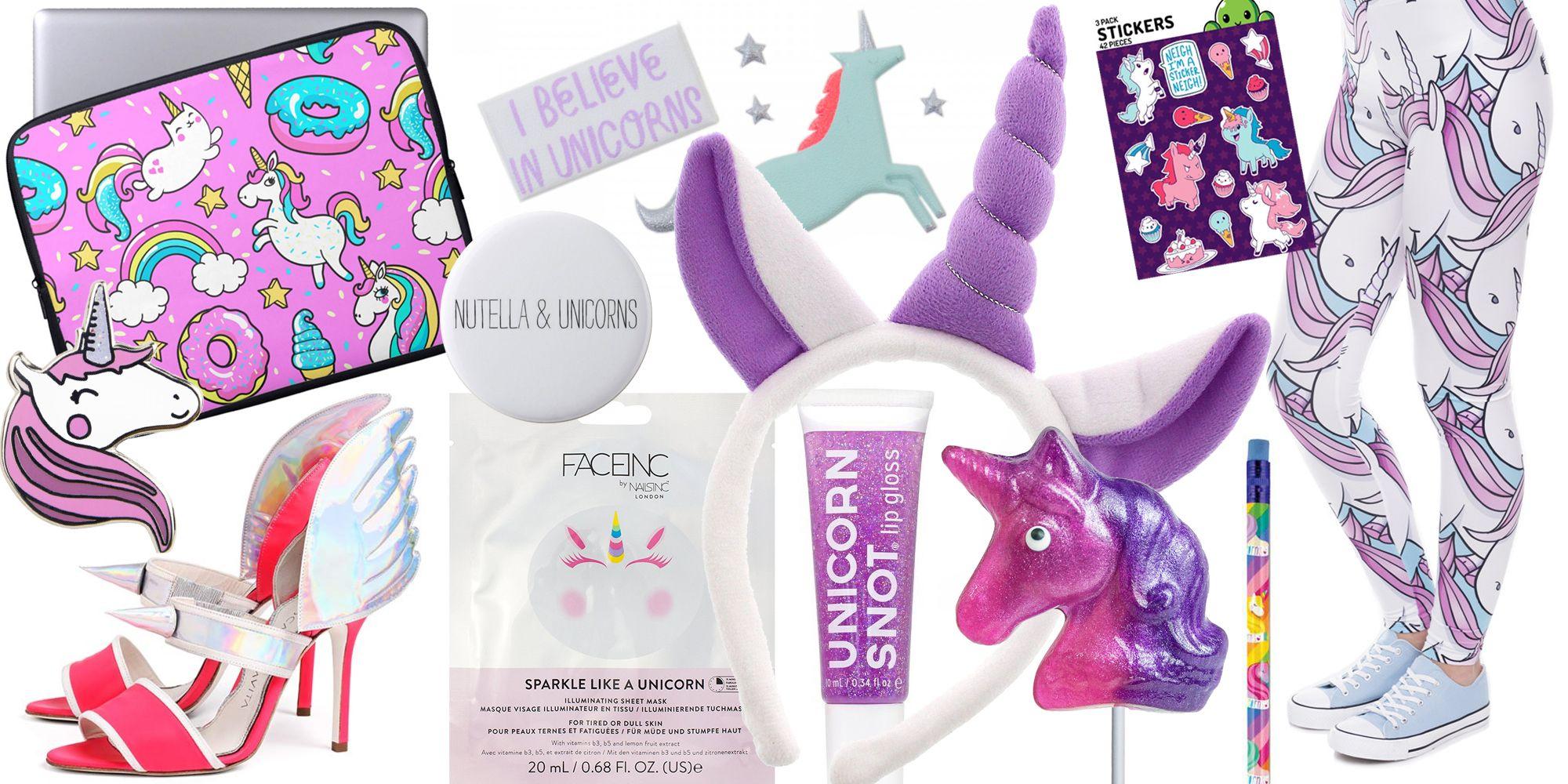 regali e accessori con unicorni