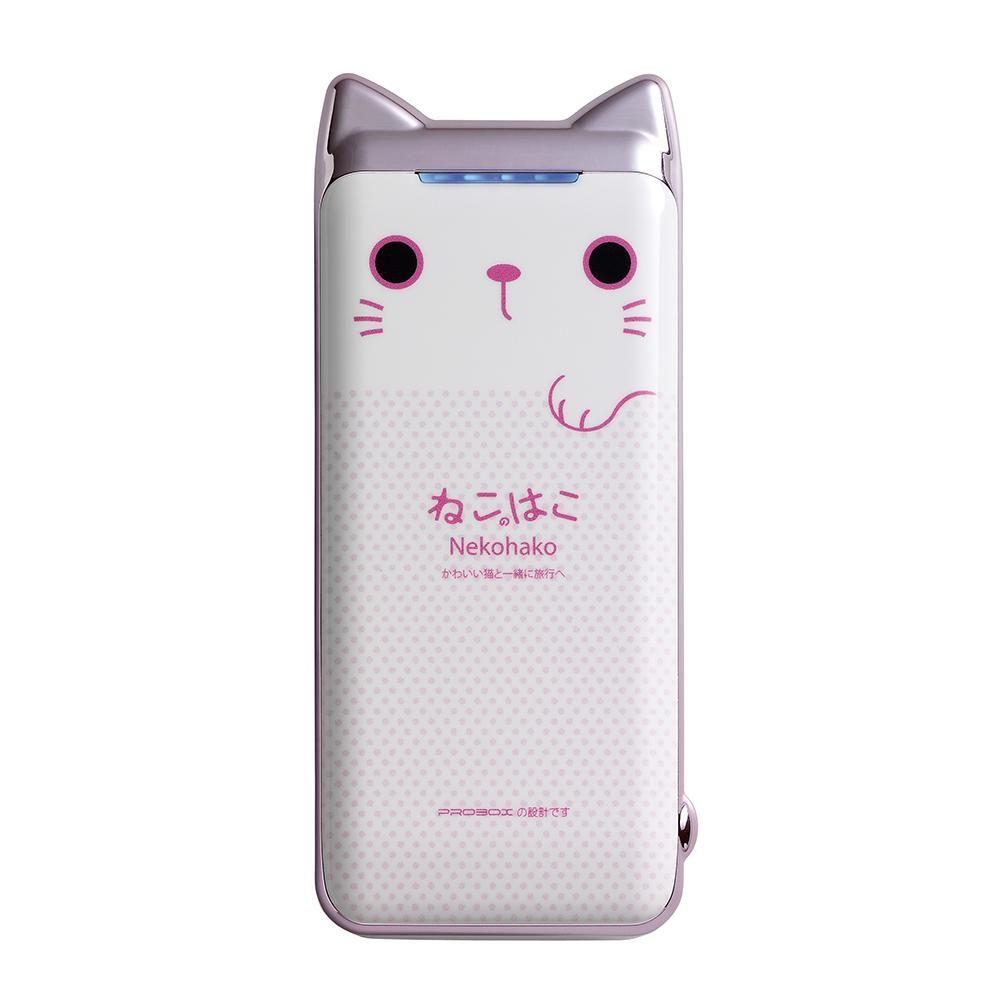 PROBOX, 貓咪, 貓奴, 喵星人, 行動電源, 藍芽喇叭, 可愛, 少女, 馬卡龍, 充電器, 傳輸線, USB, 3C, 科技, 萌