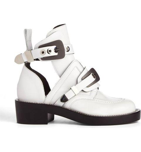 Footwear, White, Shoe, Mary jane, Sandal, Beige, Buckle, Sneakers, Strap,