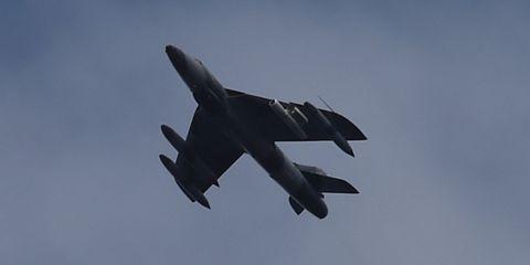 Aircraft, Airplane, Vehicle, Air force, Military aircraft, Aviation, Flight, Fighter aircraft, Jet aircraft, Sky,