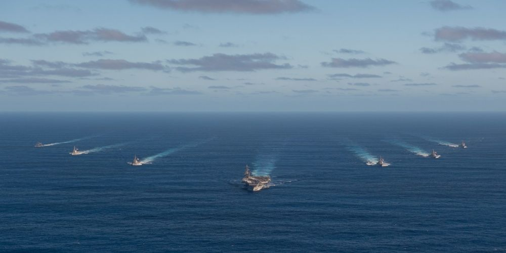 The 'Big Stick' Carrier Strike Group Is Packing Some Major Firepower