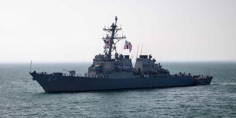 Vehicle, Naval ship, Warship, Ship, Battleship, Destroyer, Guided missile destroyer, Navy, Heavy cruiser, Cruiser,