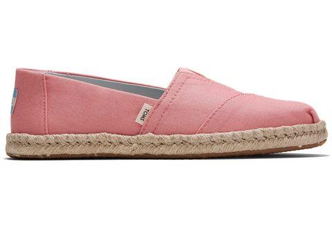 Footwear, Shoe, Pink, Espadrille, Beige, Magenta,