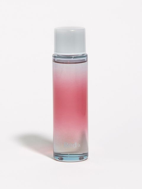 Pink, Product, Bottle, Liquid, Perfume, Material property, Solution, Glass, Drinkware, Fluid,