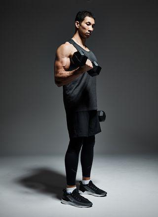 pasos curl de bíceps perfecto