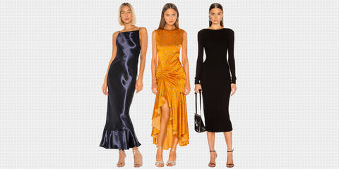Fashion model, Clothing, Dress, Fashion, Shoulder, Yellow, Formal wear, Cocktail dress, Haute couture, Day dress,