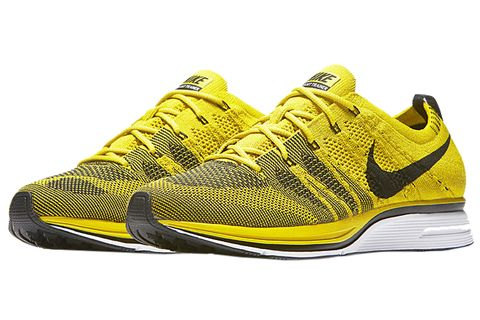 Shoe, Footwear, Outdoor shoe, Running shoe, Sneakers, Yellow, White, Black, Walking shoe, Sportswear,