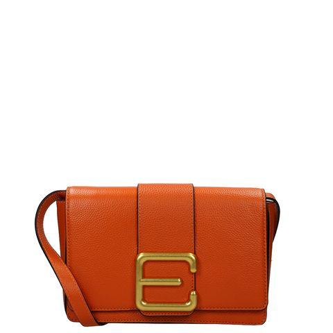 Bag, Handbag, Tan, Leather, Orange, Brown, Fashion accessory, Wallet, Shoulder bag, Messenger bag,