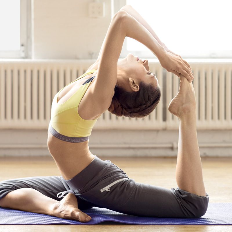 Yoga Moves for a Pick-Me-Up