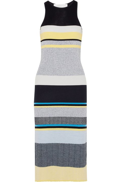 Clothing, Dress, Yellow, Turquoise, Cocktail dress, Day dress, Neck, Beige, Bottle, Strapless dress,