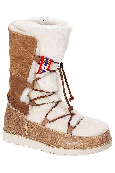 Footwear, Boot, Shoe, Snow boot, Beige, Fur,