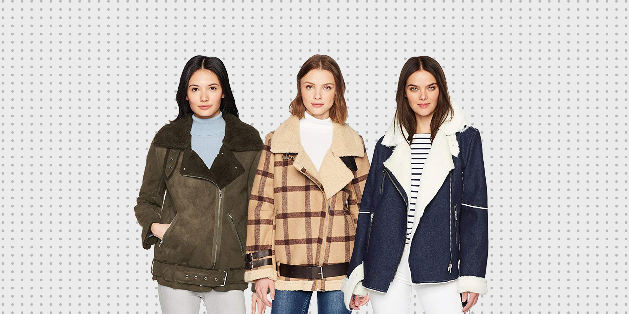 J.O.A.'s Faux Fur Shearling Jacket Is Perfect for Fall