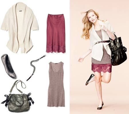 Cardigan/Tunic Outfit