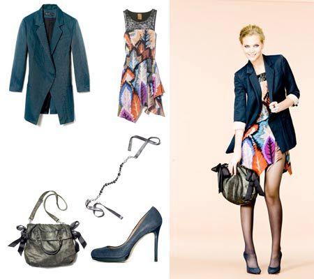 Blazer/Dress Outfit