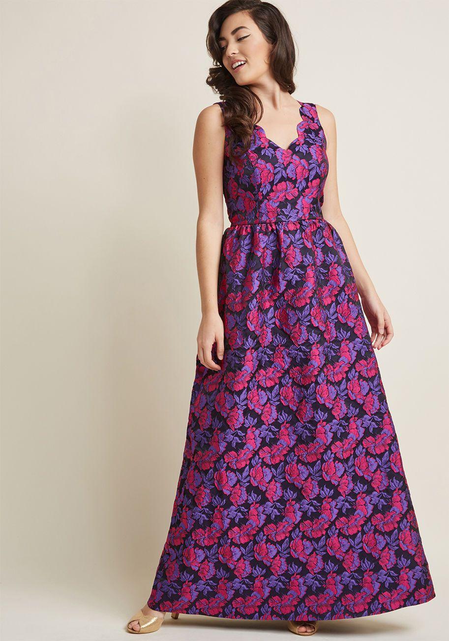 Long Purple Prom Dresses