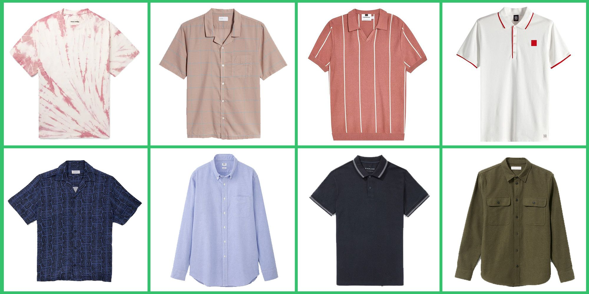 The 21 Shirts Under $100 You Need in Your Closet