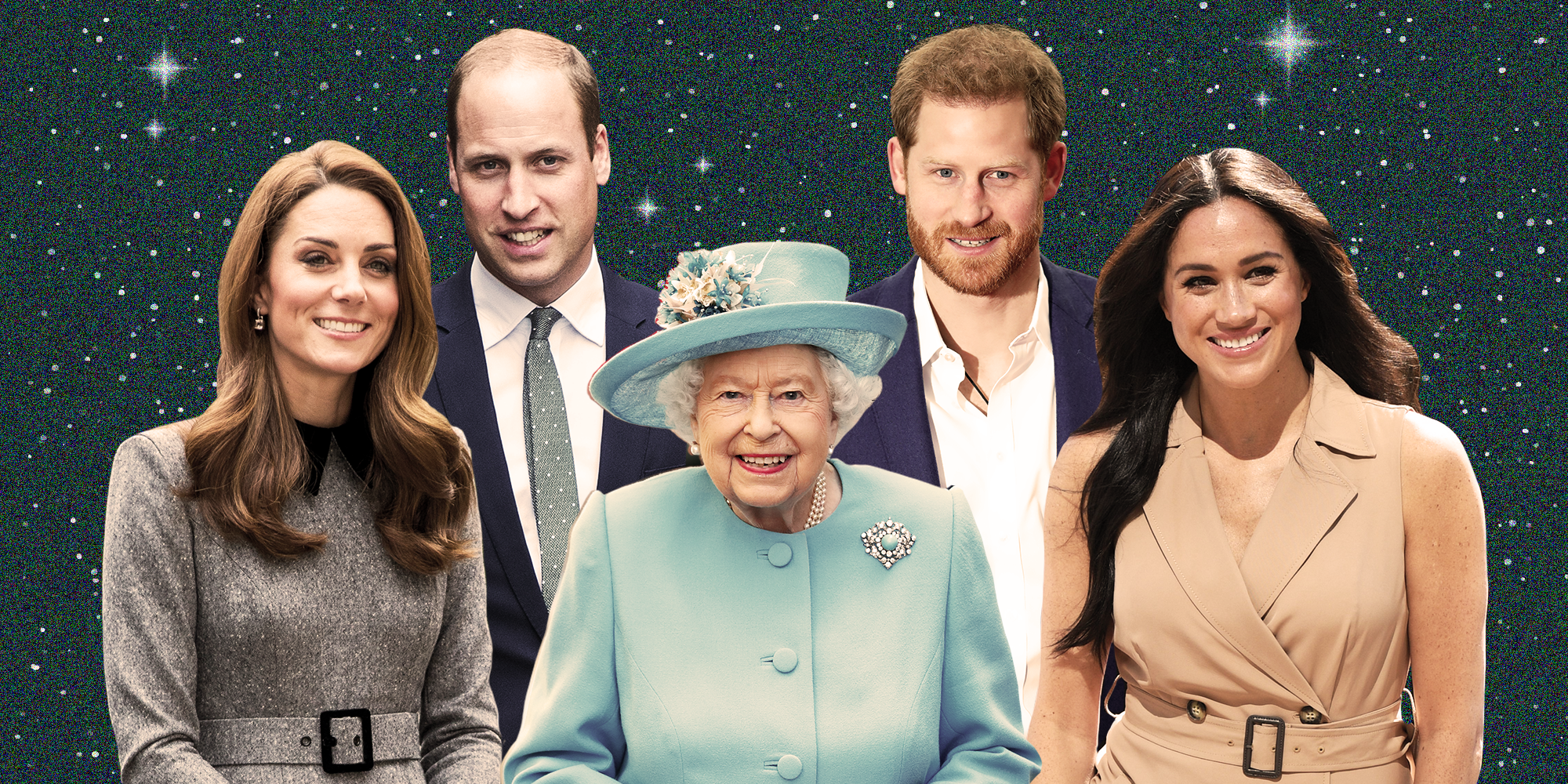 A Mini Deep Dive Into the Royal Family's Birth Charts