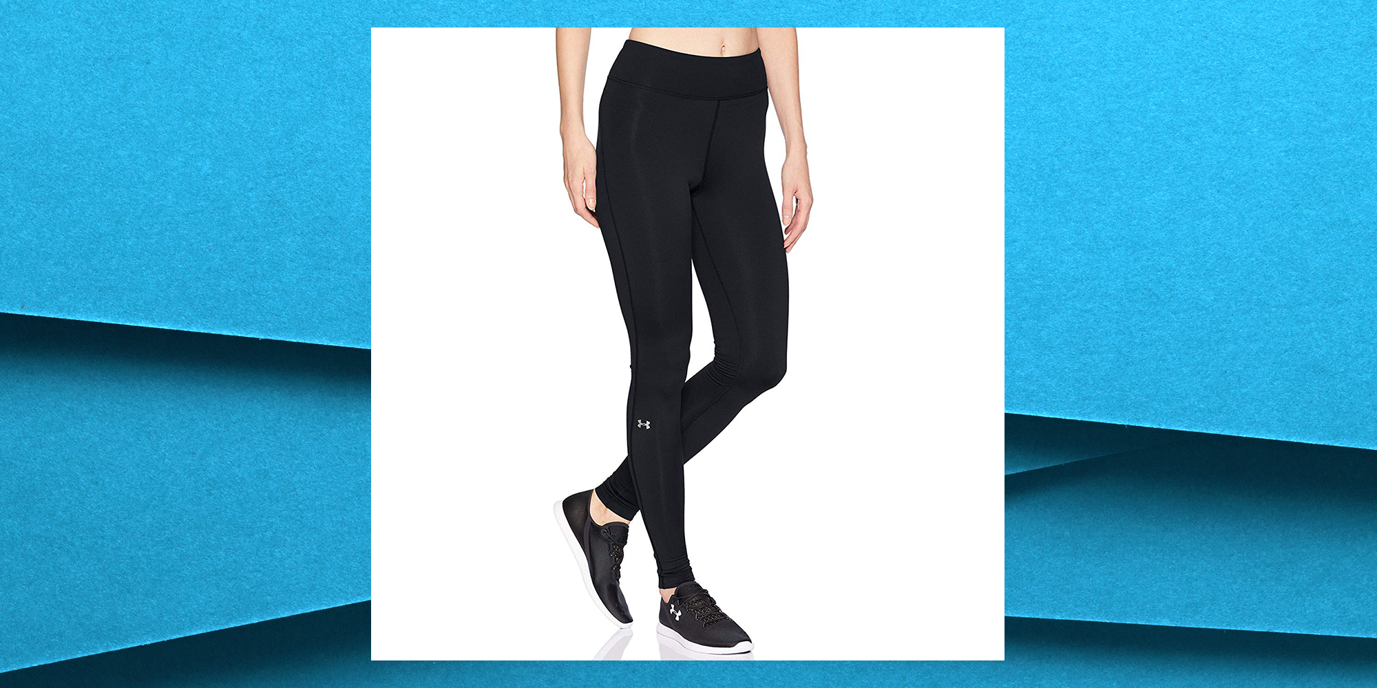 Under Armour's ColdGear Leggings Are On Sale For 40 Percent Off On Amazon Right Now