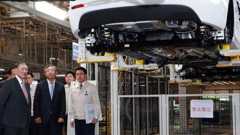 Hyundai plant in Cangzhou