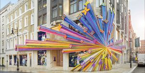 Louis Vuitton New Bond Street, newly renovated art and fashion, Faye McLeod and Peter Marino
