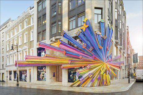 Louis Vuitton New Bond Street, newly renovated art and fashion, Faye McLeod and Peter Marino