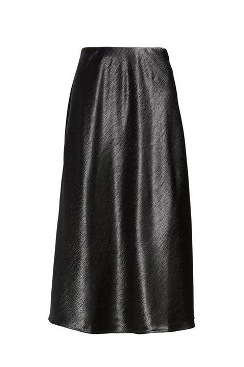 Clothing, Black, A-line, Fashion, Leather, Pencil skirt, Waist,
