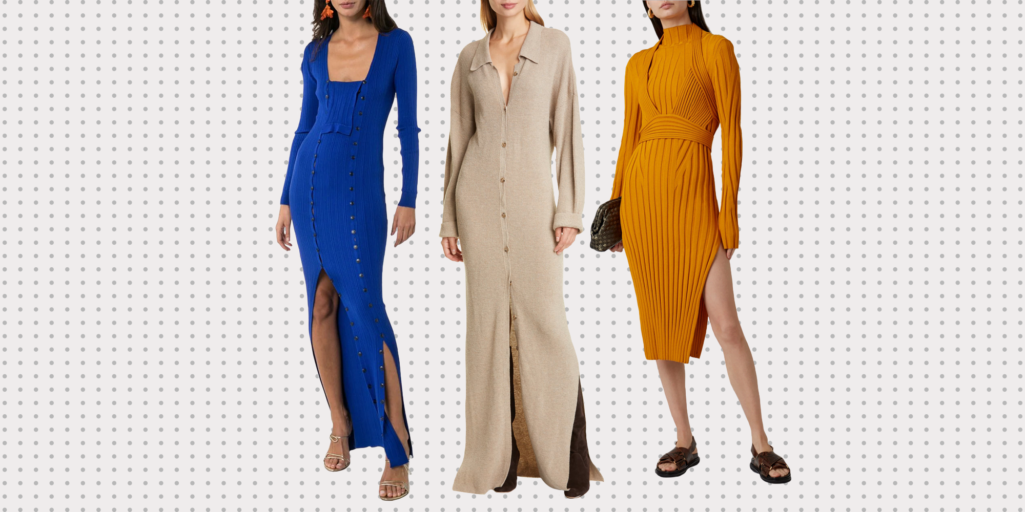 These Knit Dresses Will Complete Your Fall Wardrobe