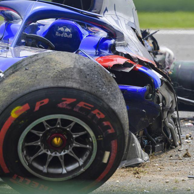 Galería: Las mejores imágenes de los accidentes de la primera mitad de la temporada