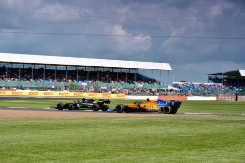 McLaren Renault 2019 British GP