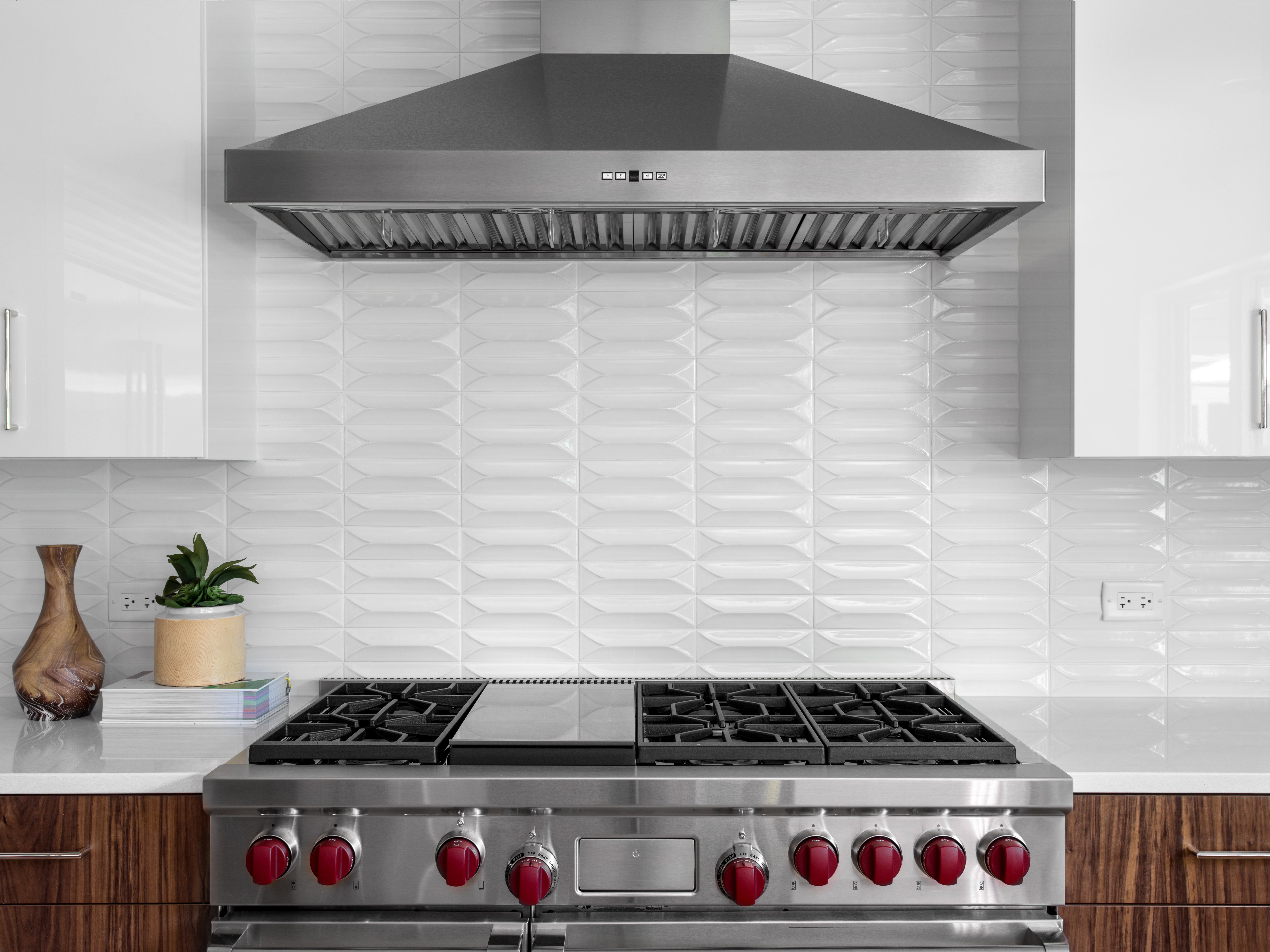 20 Gorgeous Kitchens with Glossy & Reflective Tiles - Unique Kitchen ...
