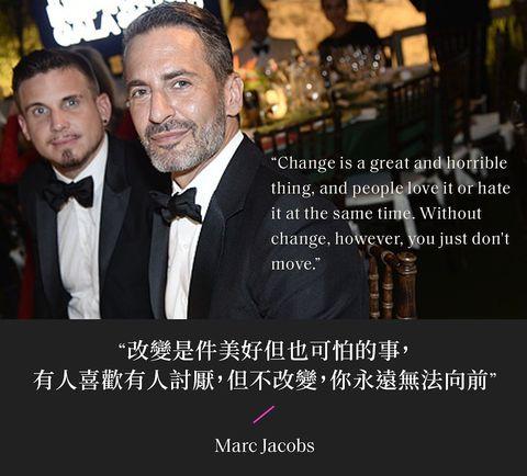 marc jacobs 與老公一同出席公開活動