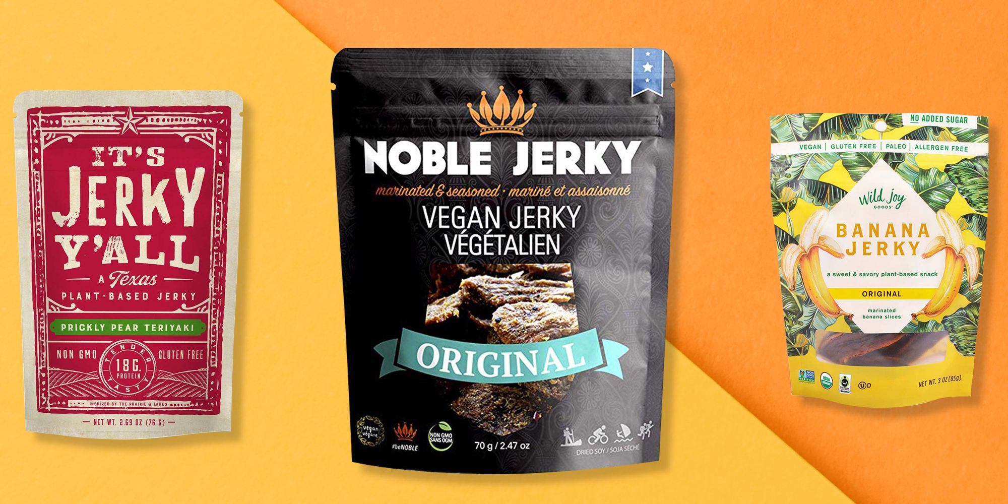 The 10 Best Vegan Jerky Products, According To Nutritionists