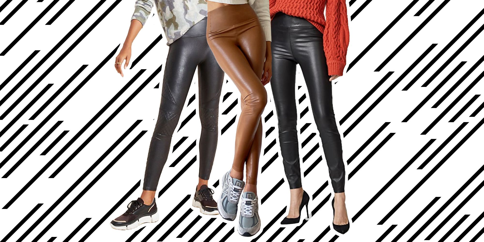 The Best Leather Leggings, From Faux Leather to Budget-Friendly Options