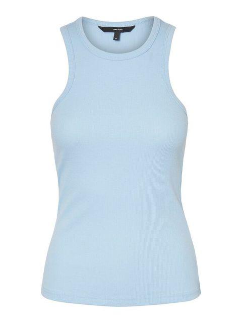 Clothing, White, Blue, Sleeveless shirt, Active tank, Aqua, T-shirt, Sleeve, Turquoise, Outerwear,