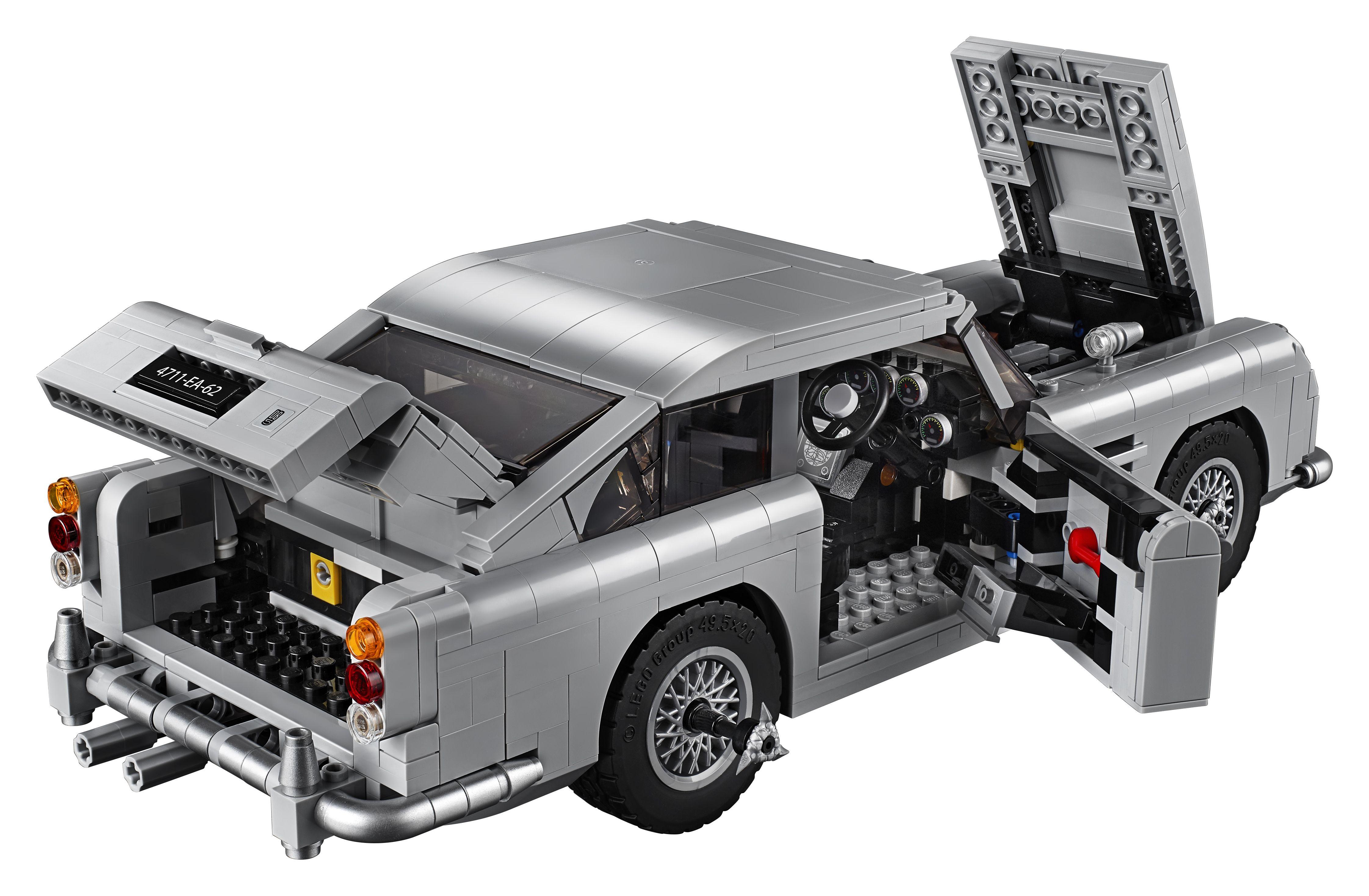 Lego Reveals A James Bond 1964 Aston Martin Db5 Car Set New James