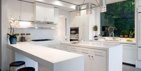 Excellent Kitchen Peninsula Ideas 34 Gorgeous And Functional Kitchen Download Free Architecture Designs Oxytwazosbritishbridgeorg