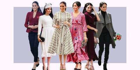 494f864ad2d Meghan Markle's Royal Tour Outfits Have Cost a Total of $50k and ...