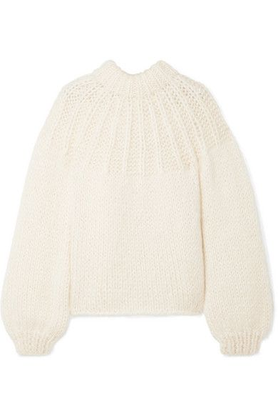 Clothing, White, Outerwear, Beige, Sweater, Sleeve, Wool, Neck, Blouse, Collar,