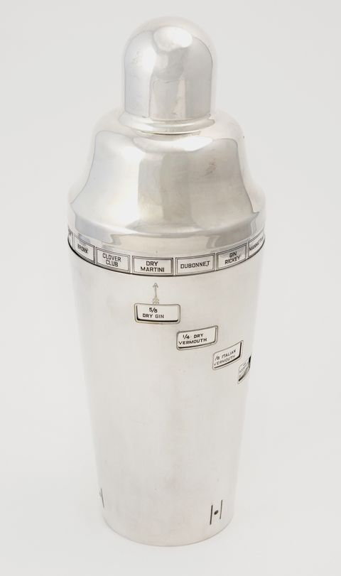 sothebys barware silver plated tell you how cocktail shaker