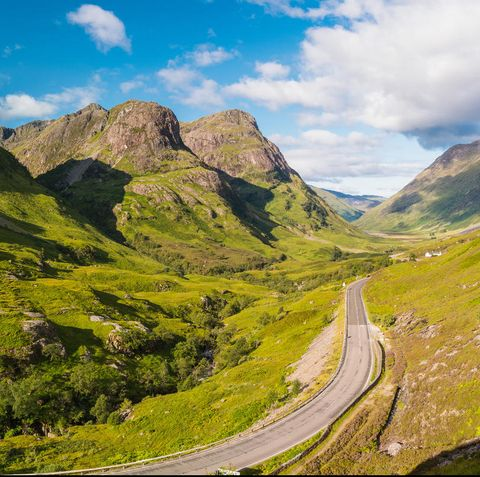 Scotland tour by car - self-drive holiday