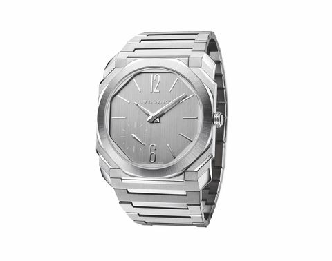 bulgari octo finissimo s steel silvered dial 103464