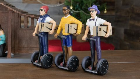 Segway, Vehicle, Toy, Figurine, Accordion, Wheel,