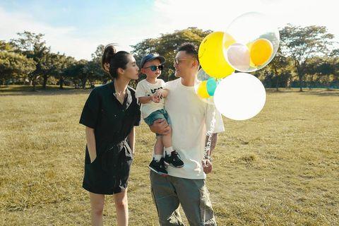 余文樂與王棠云揭露二胎是女寶寶
