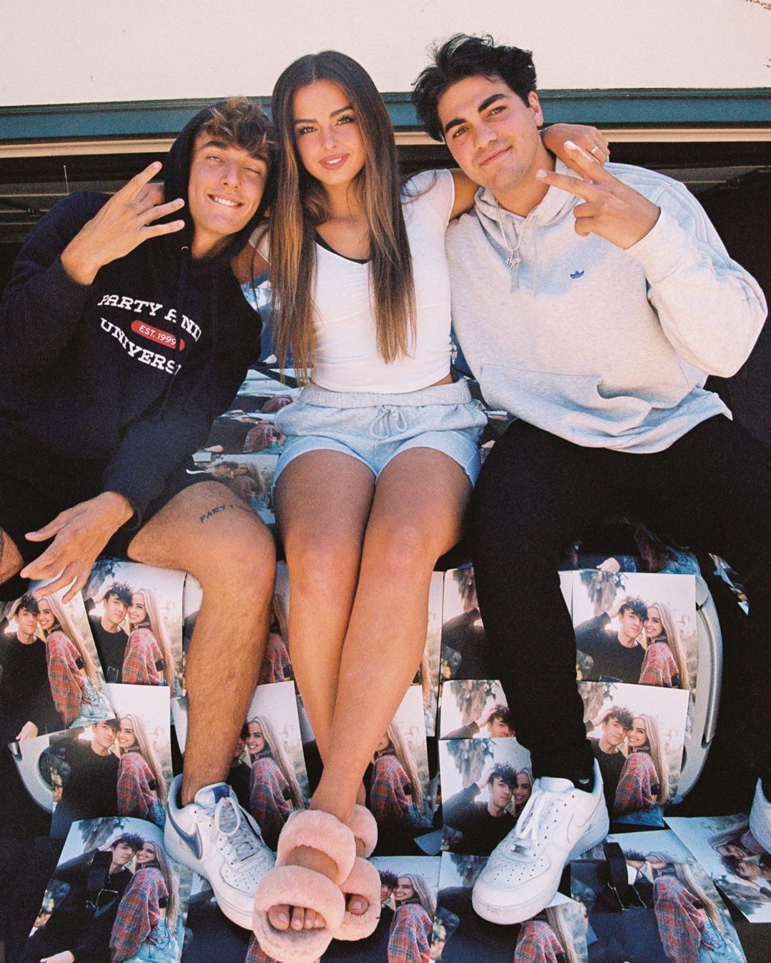 Thomas Petrou Covered Addison Rae S Car With Pictures Of Her And Bryce Hall And She Loved It