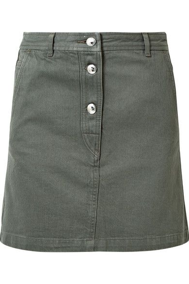 Clothing, Denim, Green, Fashion, Jeans, Pocket, A-line, Button, Shorts, Beige,