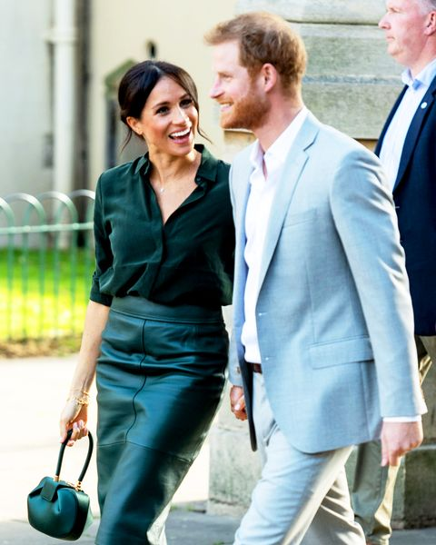 Prince Harry And Meghan Markle Spotted Holding Hands In