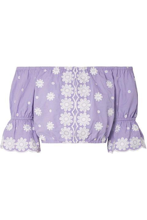 Violet, Purple, Lilac, Clothing, Lavender, Blouse, Outerwear, Sleeve, Plant, Pattern,